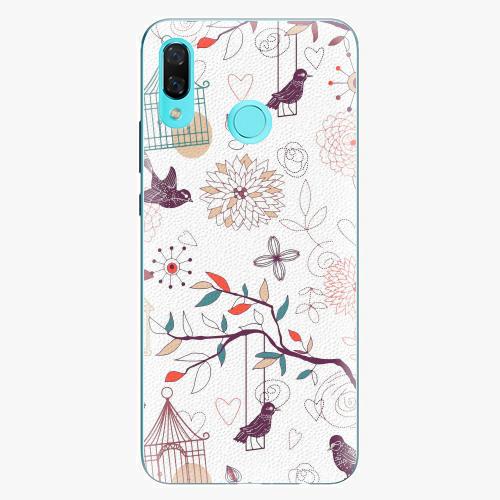 Plastový kryt iSaprio - Birds - Huawei Nova 3