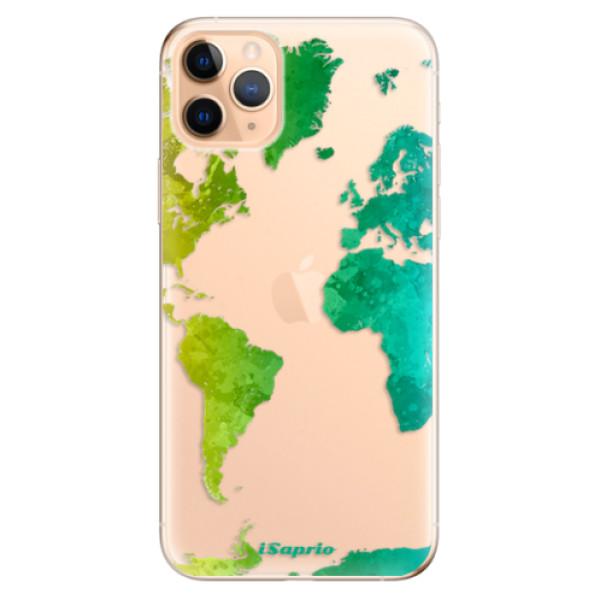 Odolné silikonové pouzdro iSaprio - Cold Map - iPhone 11 Pro Max
