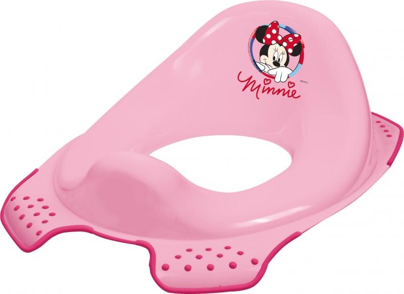 Keeeper Adaptér - treningové sedátko na toaletu Minnie - růžový