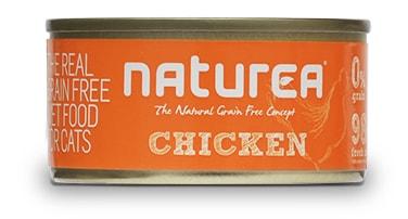 Naturea GF konzerva pro kočky - Kuřecí 80g