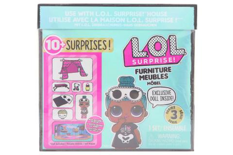L.O.L. Surprise! Nábytek s panenkou - Pyžamová párty & Sleepy Bo