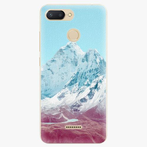 Silikonové pouzdro iSaprio - Highest Mountains 01 - Xiaomi Redmi 6