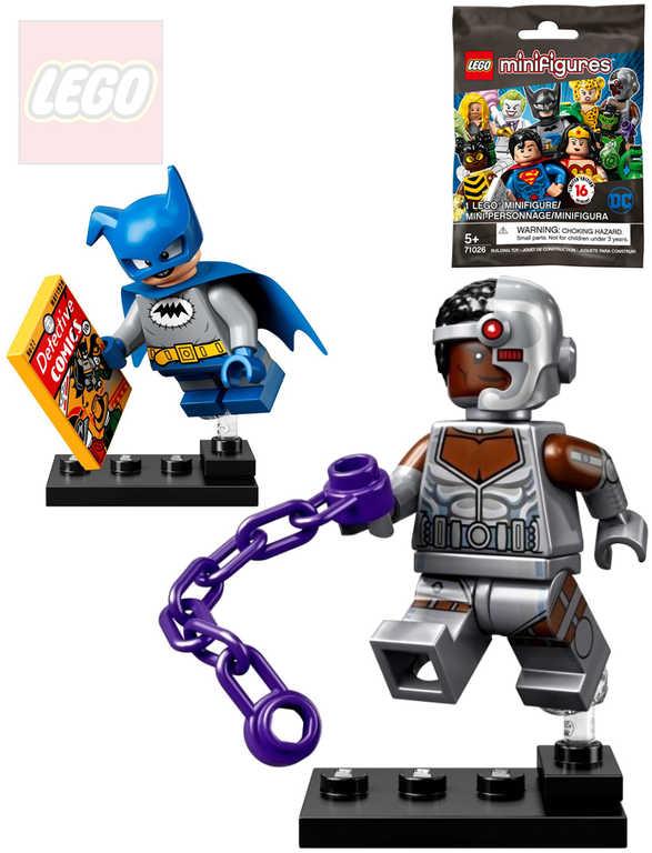 LEGO SUPER HEROES Minifigurka DC různé druhy s doplňky v sáčku plast