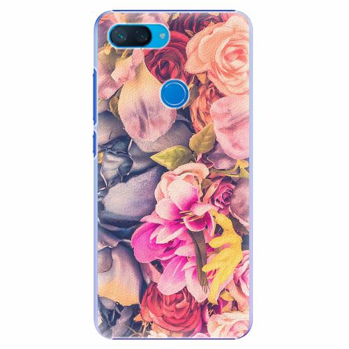 Plastový kryt iSaprio - Beauty Flowers - Xiaomi Mi 8 Lite