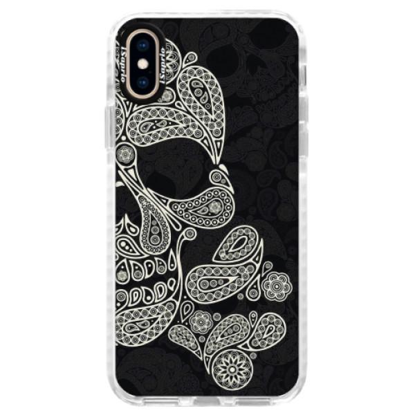 Silikonové pouzdro Bumper iSaprio - Mayan Skull - iPhone XS