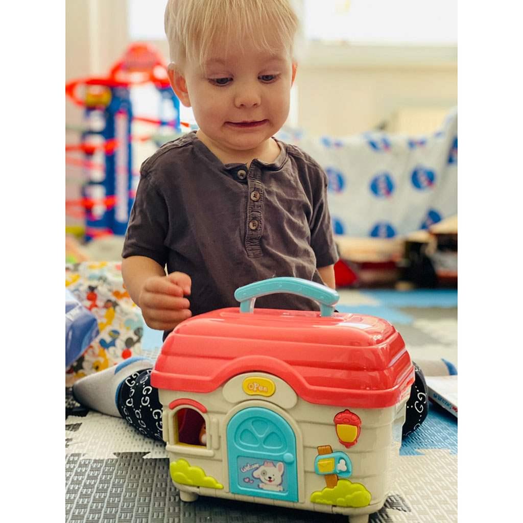 Interaktivní hračka BAYO domeček pro mazlíčky - dle obrázku