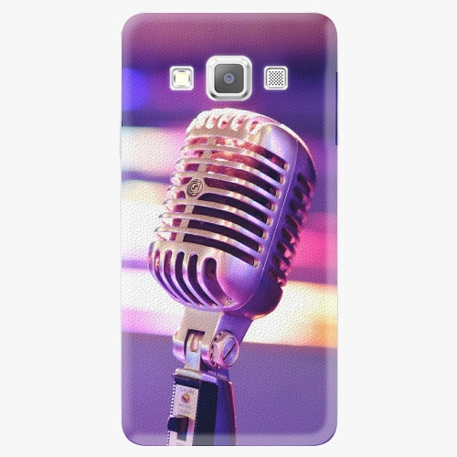 Plastový kryt iSaprio - Vintage Microphone - Samsung Galaxy A3
