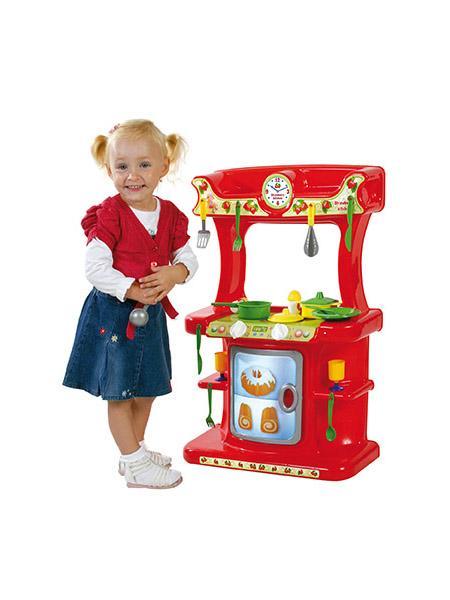 Dětská kuchyňka Jahůdka - červená