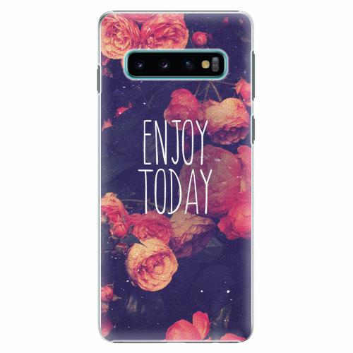 Plastový kryt iSaprio - Enjoy Today - Samsung Galaxy S10