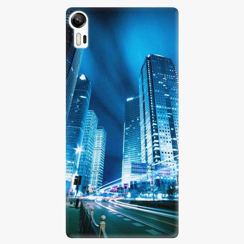 Plastový kryt iSaprio - Night City Blue - Lenovo Vibe Shot