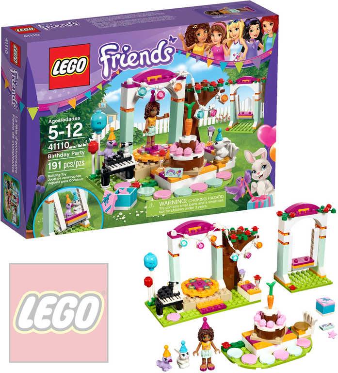 LEGO FRIENDS Oslava narozenin 41110 STAVEBNICE