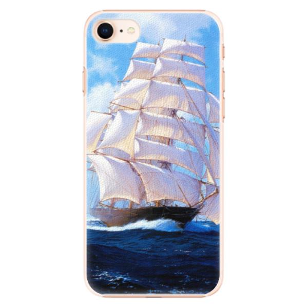Plastové pouzdro iSaprio - Sailing Boat - iPhone 8