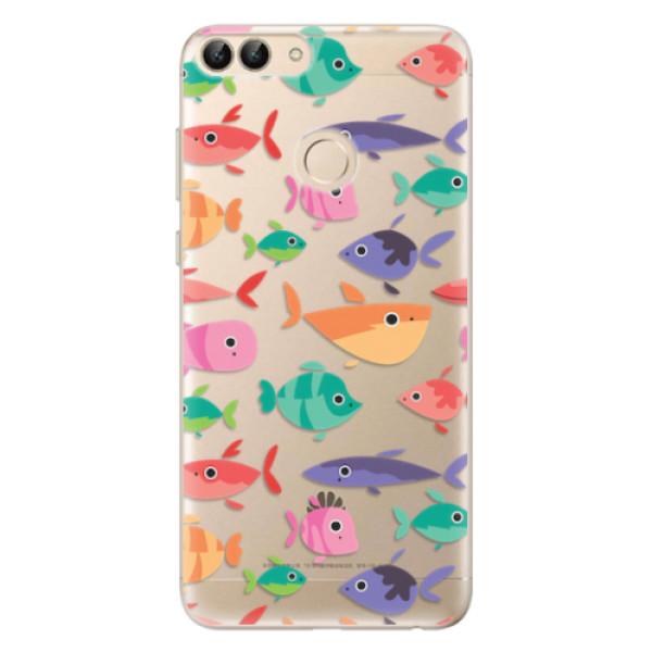 Odolné silikonové pouzdro iSaprio - Fish pattern 01 - Huawei P Smart