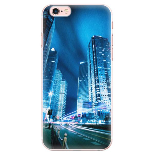 Plastové pouzdro iSaprio - Night City Blue - iPhone 6 Plus/6S Plus