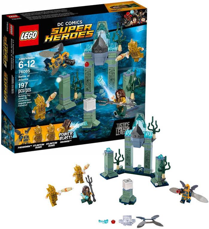 LEGO SUPER HEROES Bitva o Atlantidu 76085