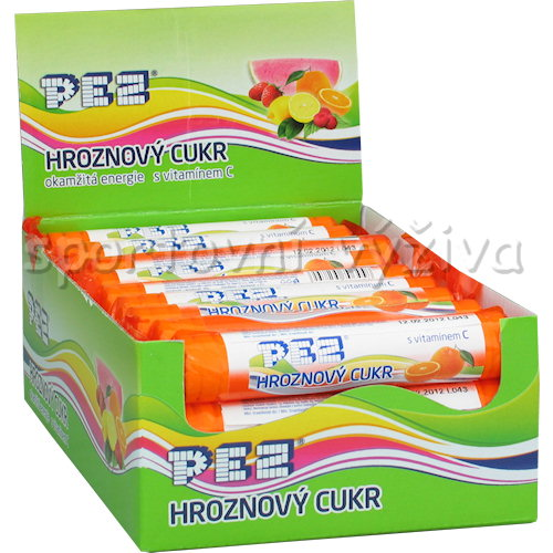 Hroznový cukr + Vitamin C - 39g-jahoda