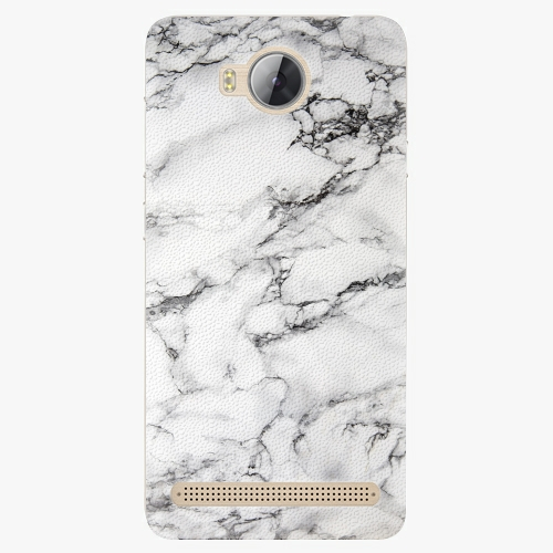 Plastový kryt iSaprio - White Marble 01 - Huawei Y3 II