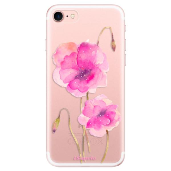 Odolné silikonové pouzdro iSaprio - Poppies 02 - iPhone 7