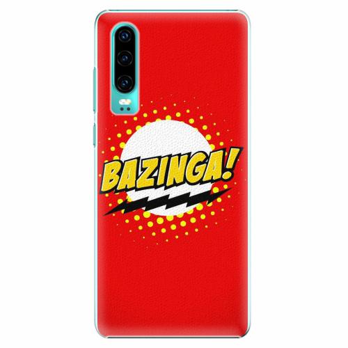 Plastový kryt iSaprio - Bazinga 01 - Huawei P30