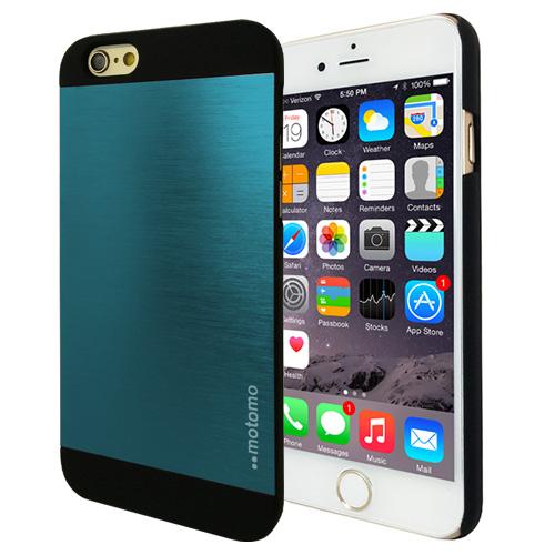 Hliníkový kryt / pouzdro Motomo pro iPhone 6 modrý