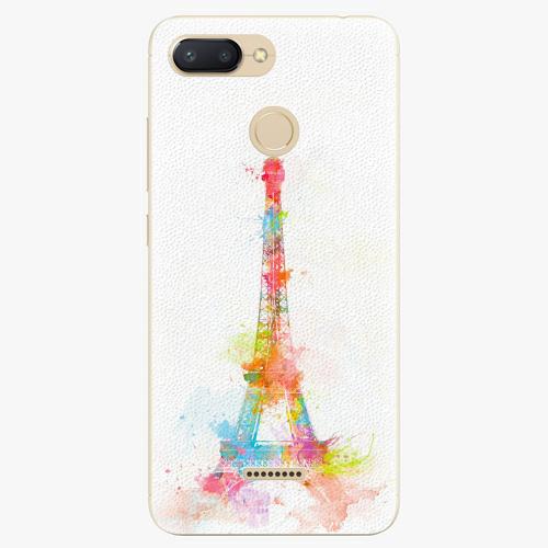 Silikonové pouzdro iSaprio - Eiffel Tower - Xiaomi Redmi 6