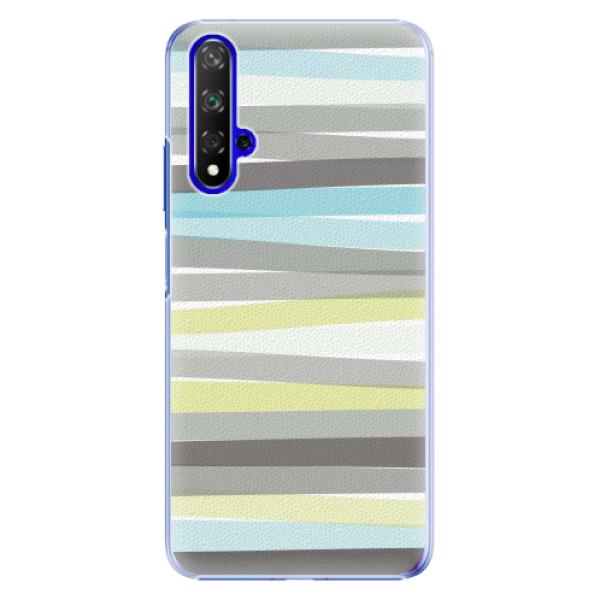 Plastové pouzdro iSaprio - Stripes - Huawei Honor 20