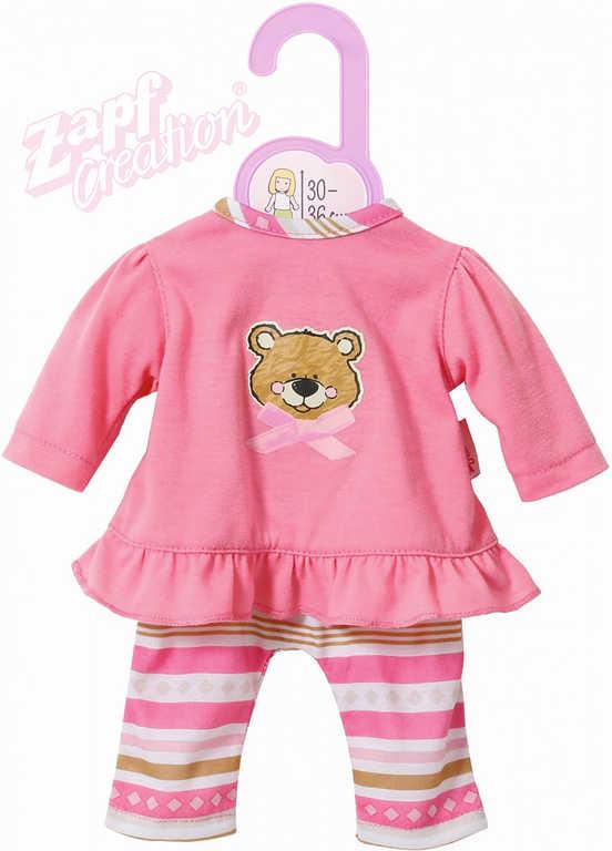 ZAPF CREATION Dolly Moda pyžamo medvídek pro panenku miminko 30-36cm