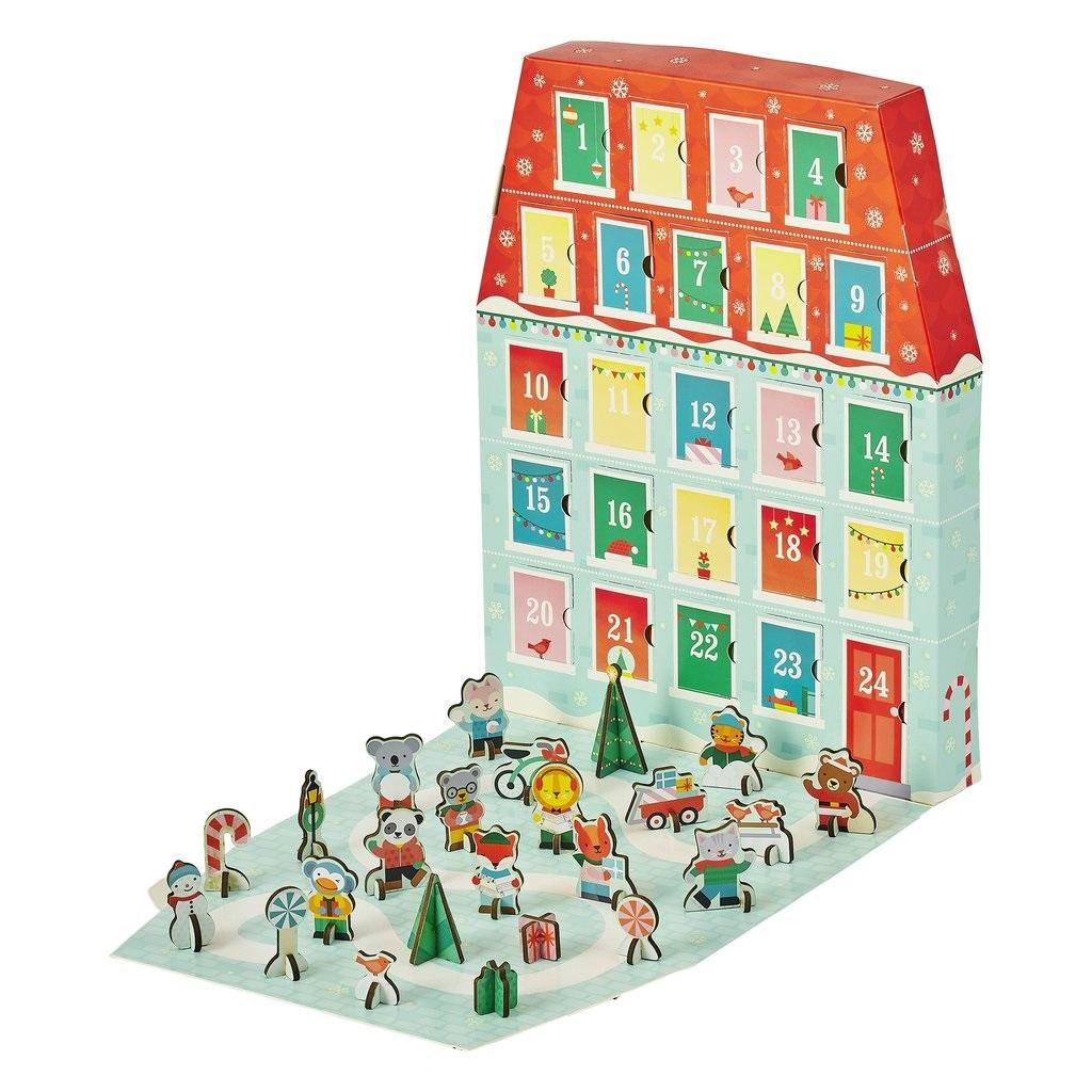 Petit Collage Vánoční adventní kalendář