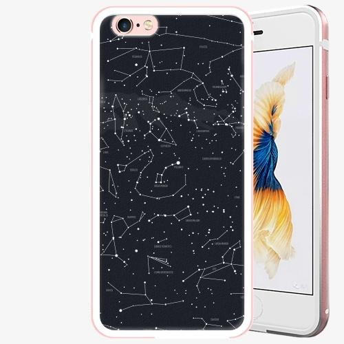 Plastový kryt iSaprio - Night Sky 01 - iPhone 6 Plus/6S Plus - Rose Gold