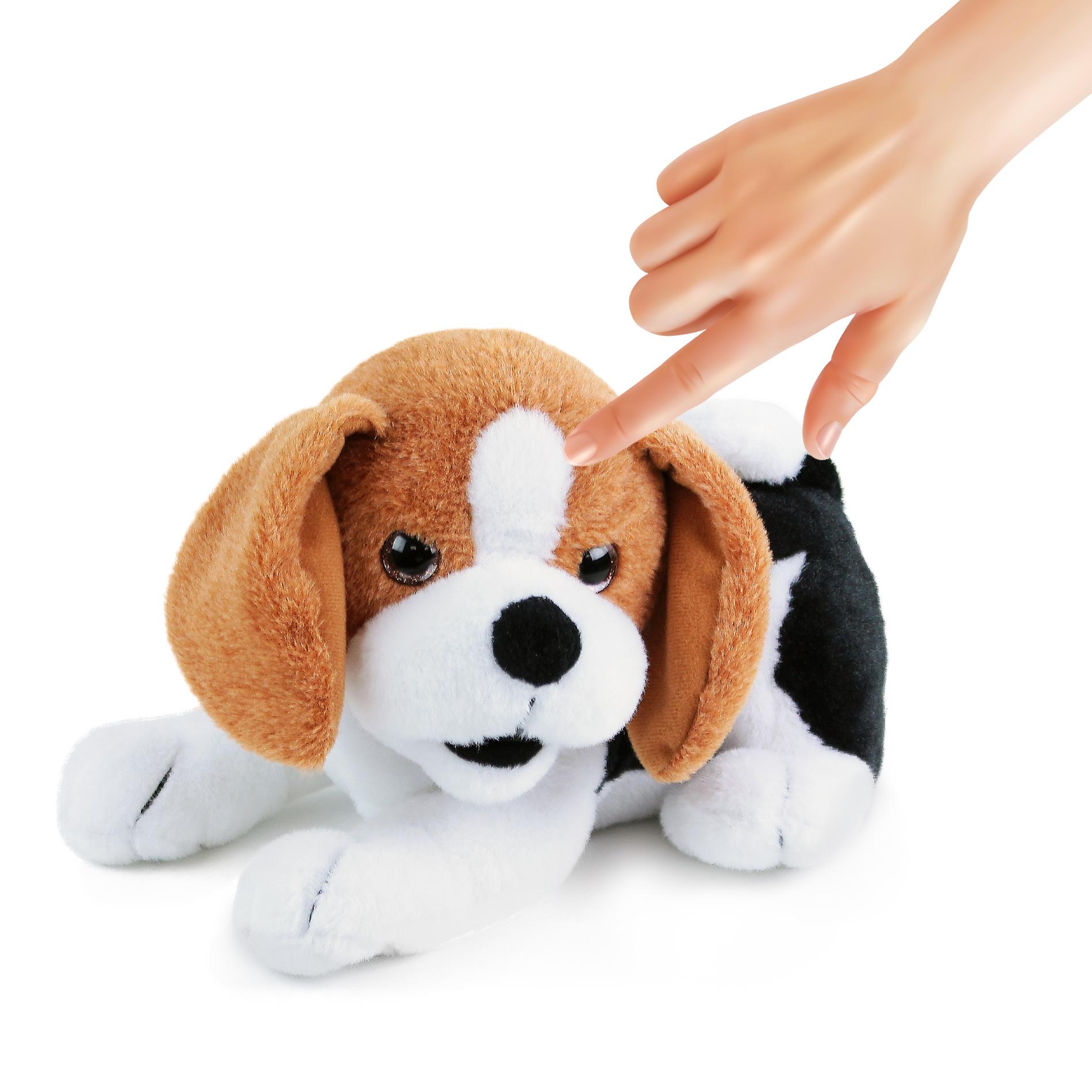 Pes Bobík - plyšový interaktivní kamarád