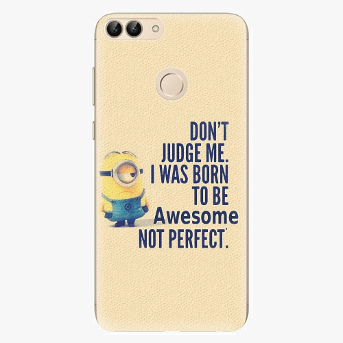 Silikonové pouzdro iSaprio - Be Awesome - Huawei P Smart