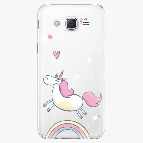 Plastový kryt iSaprio - Unicorn 01 - Samsung Galaxy J5