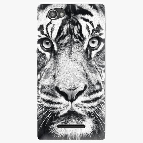 Plastový kryt iSaprio - Tiger Face - Sony Xperia M