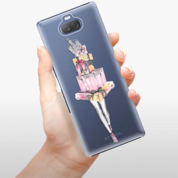 Plastové pouzdro iSaprio - Queen of Shopping - Sony Xperia 10 Plus