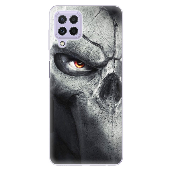 Odolné silikonové pouzdro iSaprio - Horror - Samsung Galaxy A22