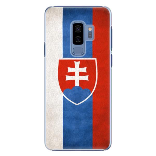 Plastové pouzdro iSaprio - Slovakia Flag - Samsung Galaxy S9 Plus