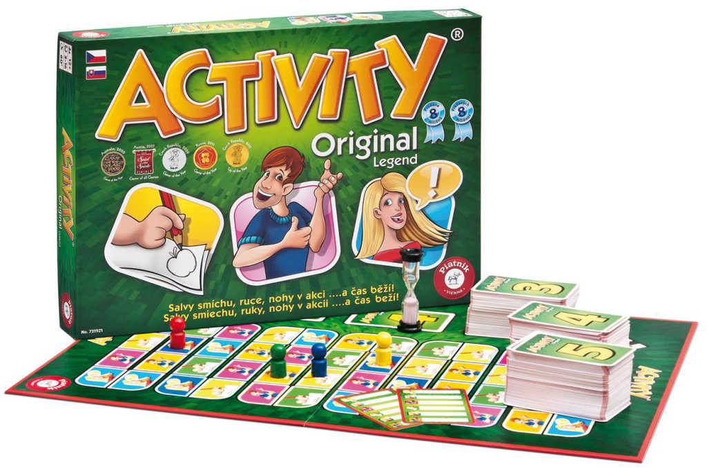 PIATNIK Hra ACTIVITY Original 2 *SPOLEČENSKÉ HRY*