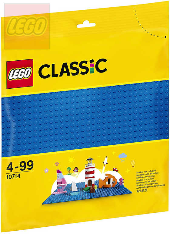 LEGO CLASSIC Podložka modrá ke stavebnicím 10714 25x25cm