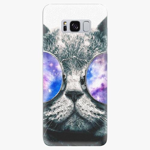 Plastový kryt iSaprio - Galaxy Cat - Samsung Galaxy S8 Plus