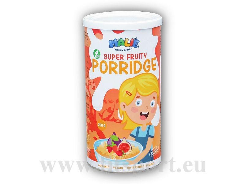 Malie Porridge super fruity BIO 250g kaše-moruse-goji-fiky