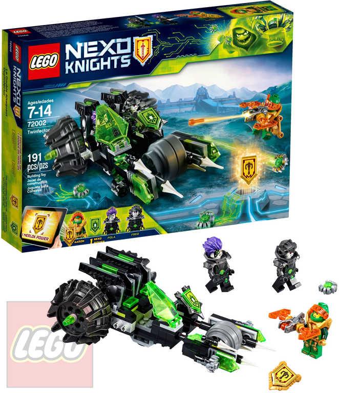 LEGO NEXO KNIGHTS Dvojkontaminátor STAVEBNICE 72002