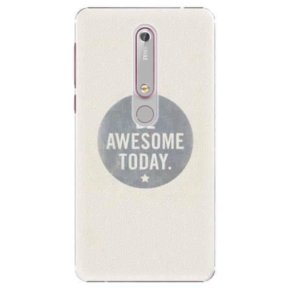 Plastové pouzdro iSaprio - Awesome 02 - Nokia 6.1