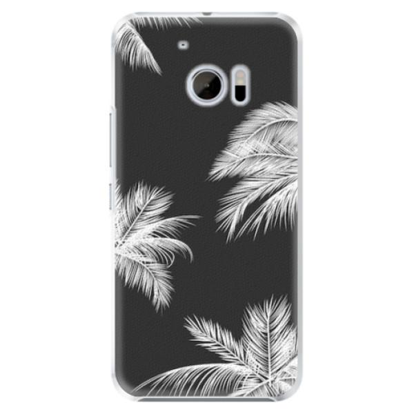Plastové pouzdro iSaprio - White Palm - HTC 10