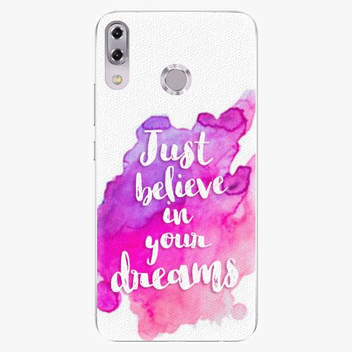 Plastový kryt iSaprio - Believe - Asus ZenFone 5Z ZS620KL