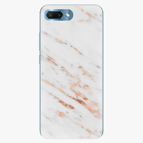 Plastový kryt iSaprio - Rose Gold Marble - Huawei Honor 10