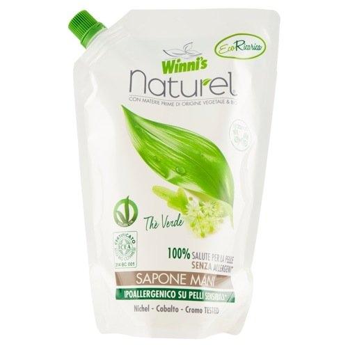WINNIS Naturel tekuté mýdlo se zeleným čajem a aloe vera 500 ml