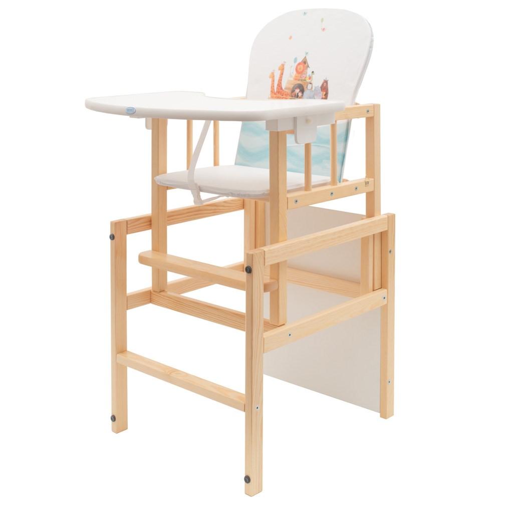 Borovicová židlička Drewex Antonín Arka - bílá