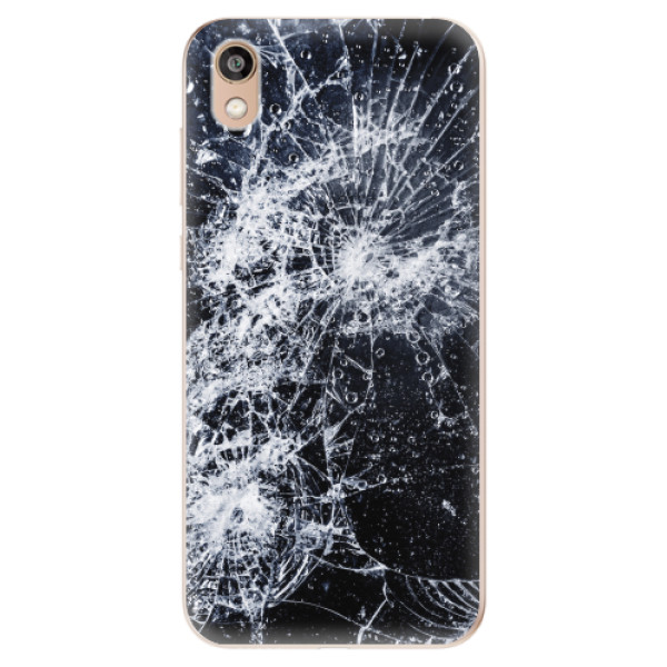 Odolné silikonové pouzdro iSaprio - Cracked - Huawei Honor 8S