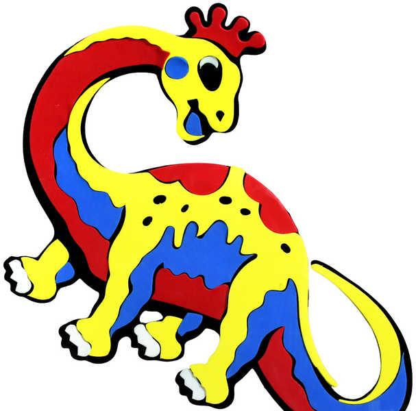 Dekorace Dino (pěnová samolepící na stěnu, sklo, nábytek apod.)