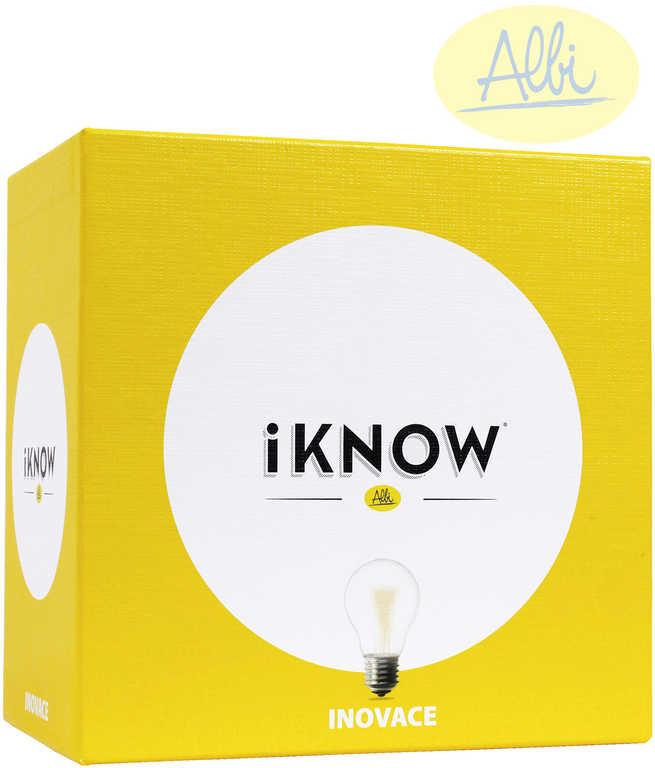 ALBI HRA iKNOW mini Inovace rozšíření vědomostní kvízová
